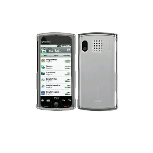 Unlimited Cellular Snap-On Case for Sprint Kyocera Zio M6000, Sanyo Zio SCP-8600 - Clear