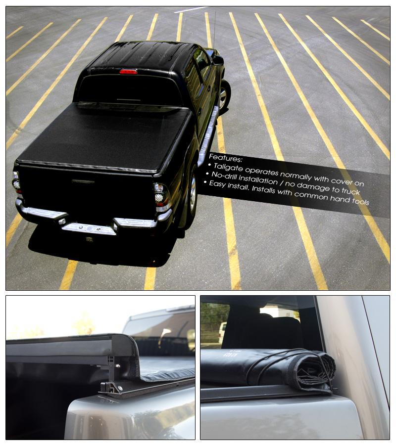 2006 Chevrolet Silverado 2500 Hd Crew Cab Camshaft: LOCK & ROLL SOFT TONNEAU COVER JR 2004+ CHEVY SILVERADO