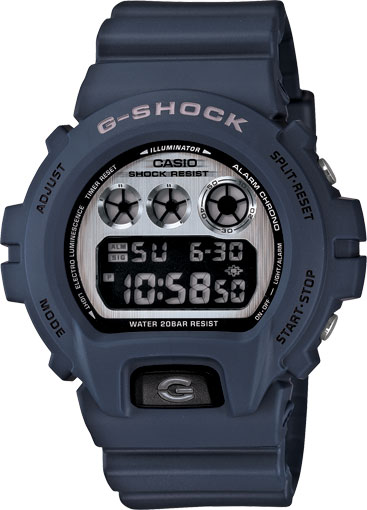 Casio Men Casio DW6900HM-2A G-Shock Navy Blue Plastic Resin Case and Strap G-Shock Cla at Sears.com