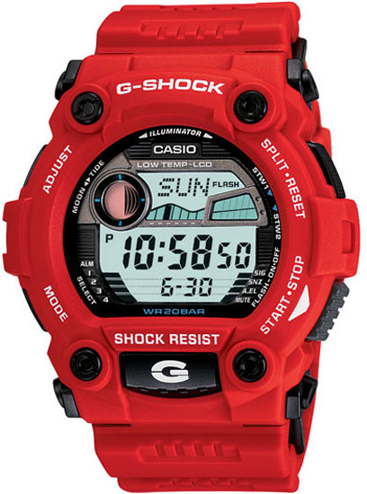 Casio Men Casio G7900A-4 G-Shock Red Plastic Resin G-Shock at Sears.com
