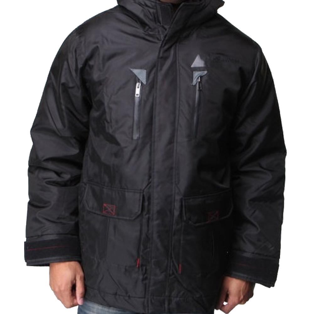 Rocawear 1140R Black Mens Jacket Winter Nylon Parka at Sears.com