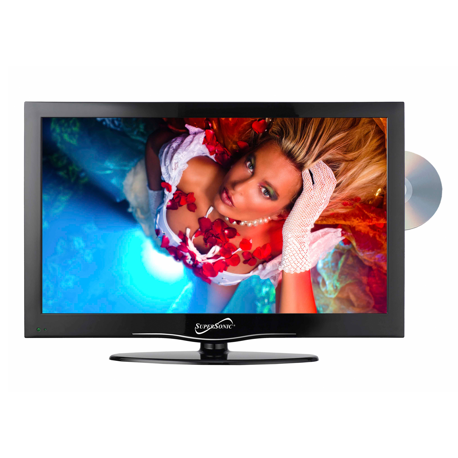 "Supersonic SC-1912 19"" Widescreen LED HDTV with Built-in DVD Player at Sears.com"