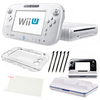 Nintendo Wii U White 8GB Holiday Bundle at Sears.com