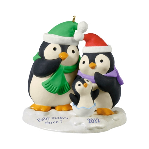 "Hallmark 2012 ""Baby Makes Three"" Ornament at Sears.com"
