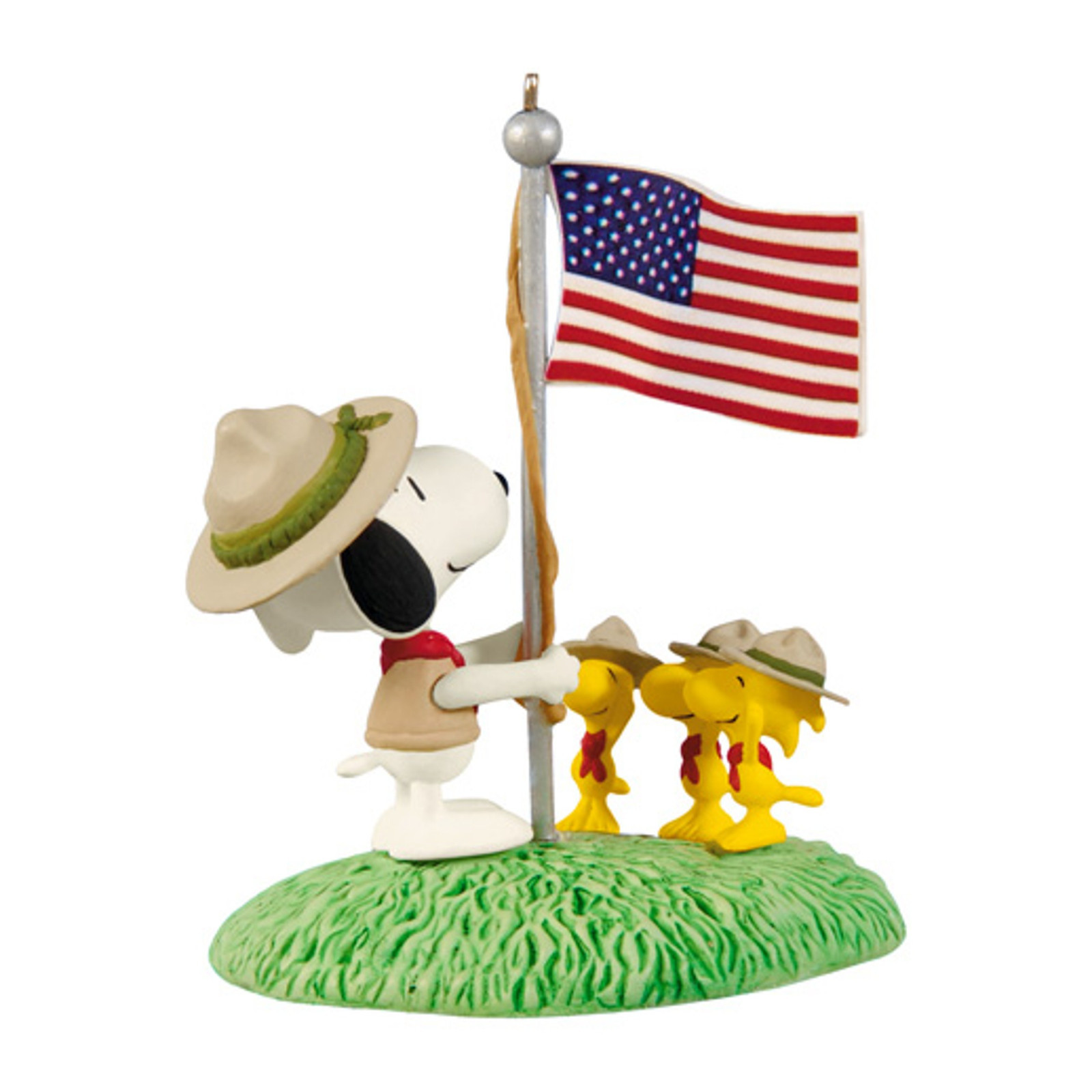 "Hallmark 2012 ""Beagle Scout Salute"" Peanuts Ornament at Sears.com"