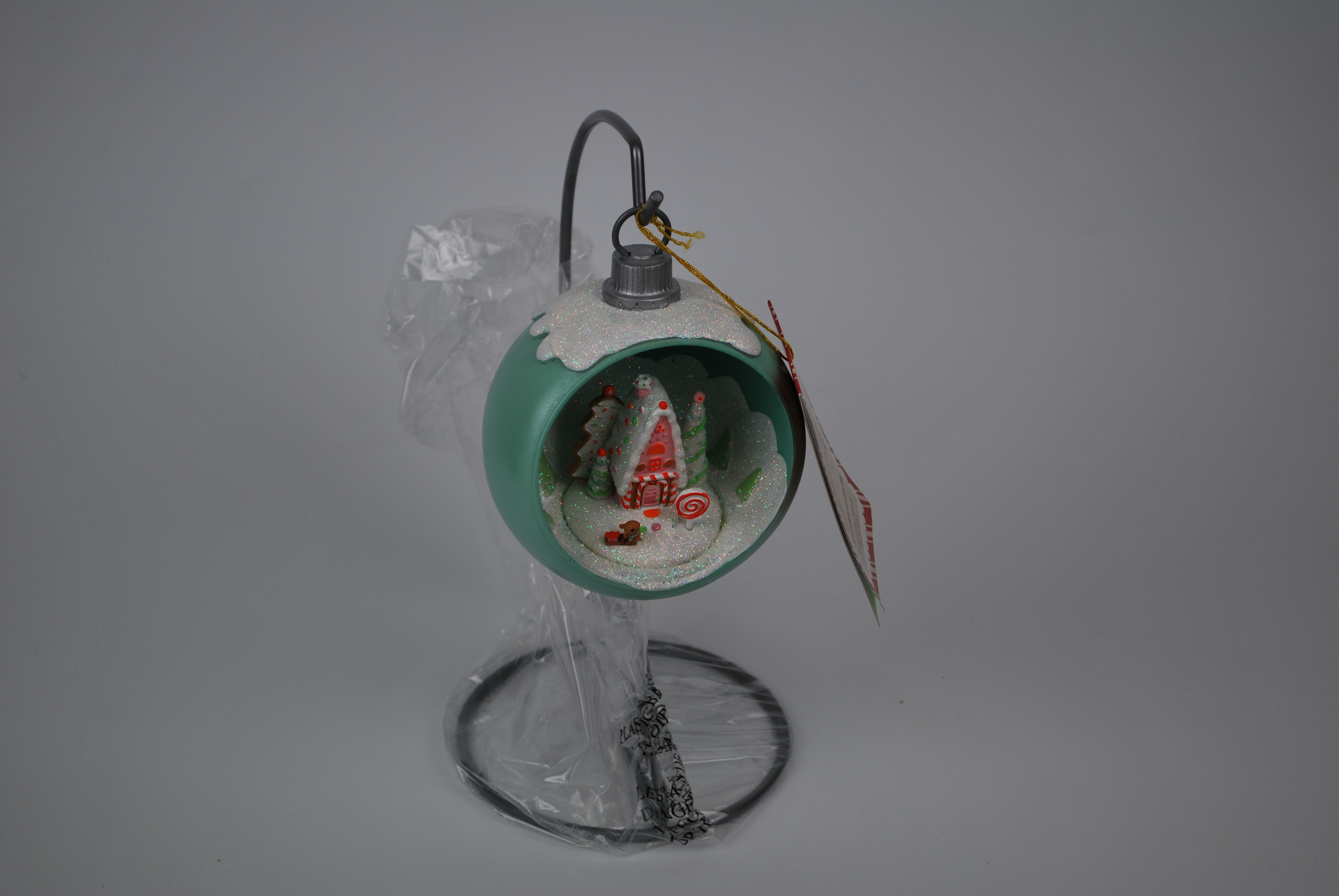 Hallmark Candy Coated Christmas Miniature World Ornament on Stand at Sears.com
