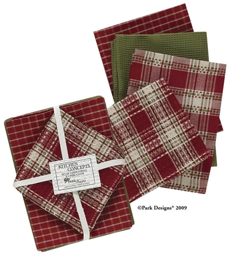 Park Designs Gift Wrap Dishtowel Set at Sears.com