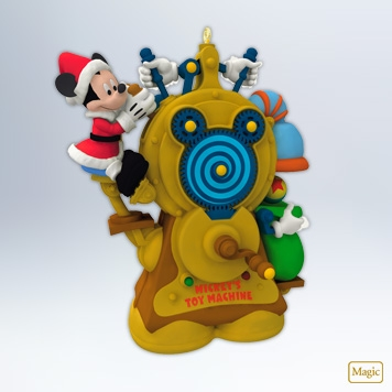 "Hallmark 2012 ""Mickey's Toy Machine"" Mickey Mouse Ornament at Sears.com"