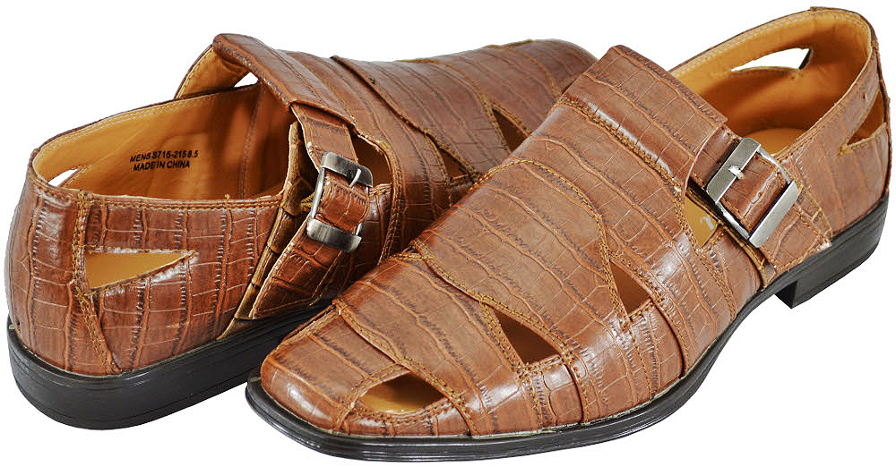Amali Men's S715-215 Cognac Sandals at Sears.com
