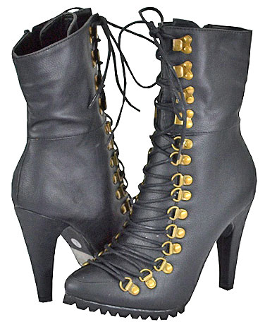 Yoki Women's Editha Black Fashion Boots at Sears.com