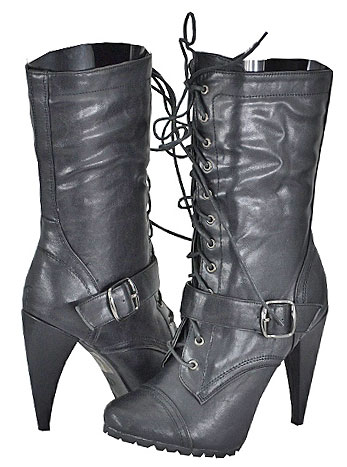 Breckelle's Women's Vicky-19 Black Fashion Boots at Sears.com