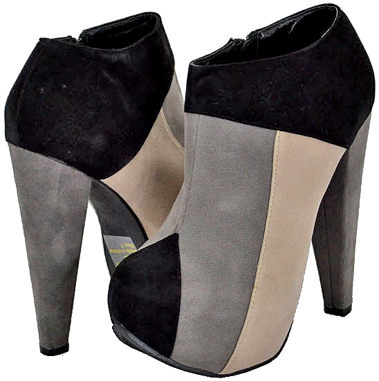Kiss & Tell Women's Calida-09 Black Ankle Boots at Sears.com