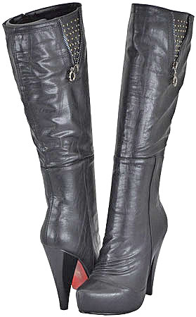 Yoki Women's Heather Black Fashion Boots at Sears.com