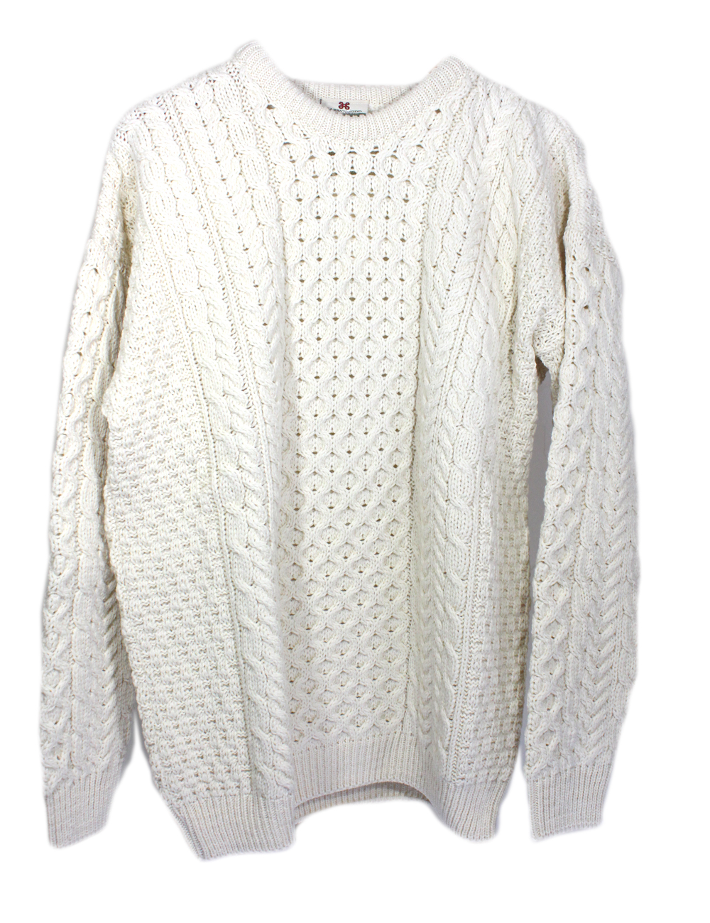 Women'S Merino Wool Irish Sweater 42