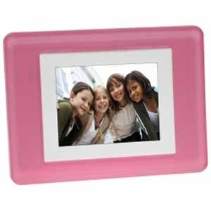 3.5'' Digital Photo Frame, Pink
