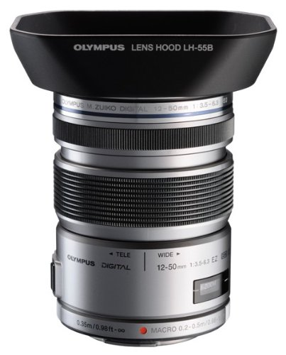 Olympus 12-50mm F3.5-6.3 EZ M.Zuiko Digital ED Lens, Micro 4/3rd's - Silver at Sears.com