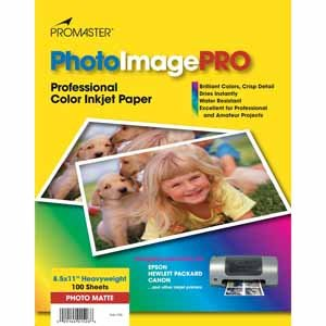 Promaster PhotoImage PRO Matte Inkjet Paper 8.5 X 11, 100 Sheets at Sears.com