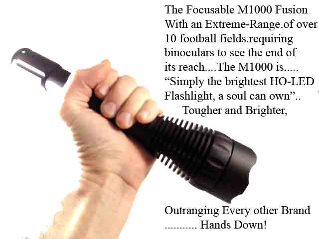 Extreme Beam ExtremeBeam M1000 Fusion LED Flashlight at Sears.com