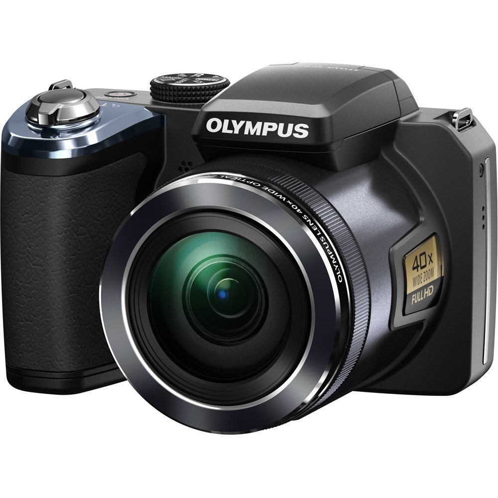 Olympus SP-820UZiHS ~ 14MP Digital Camera, Black at Sears.com