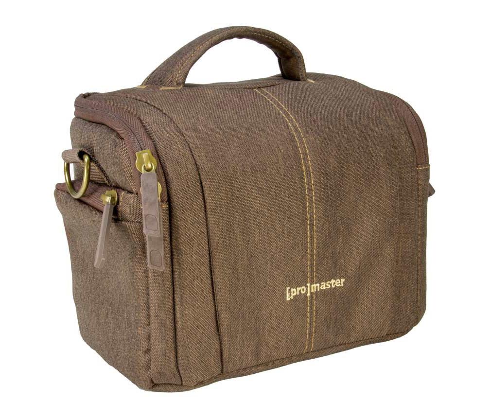 Camera Gear Bags : Promaster cityscape camera gear bag hazelnut brown