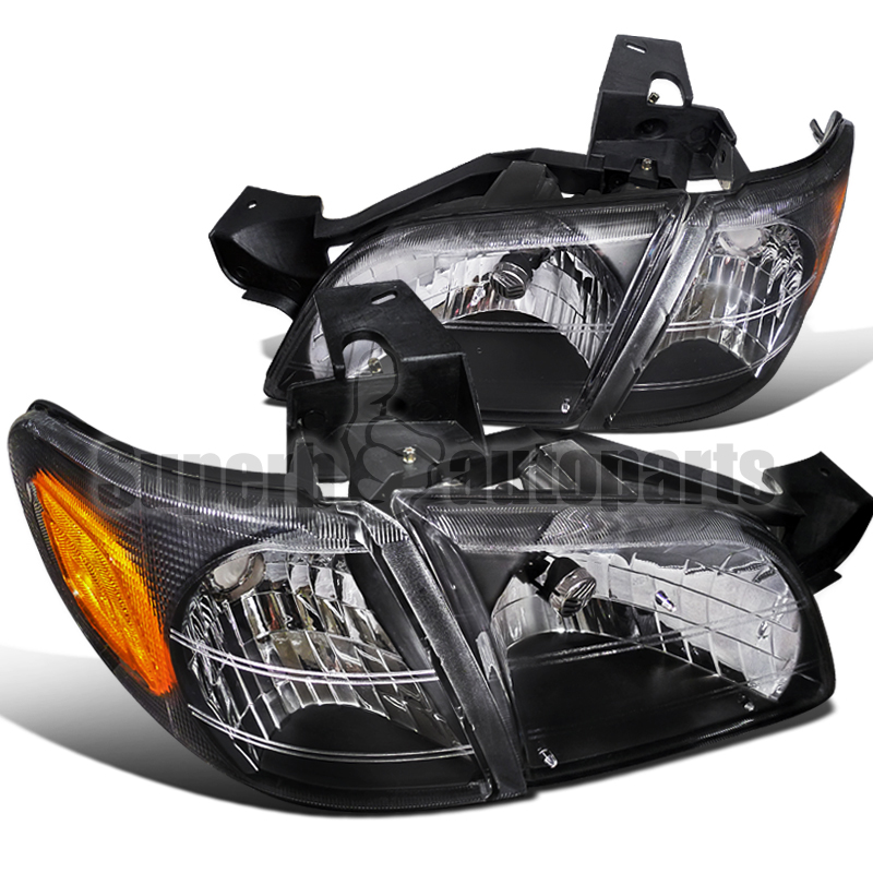 1997 2005 chevy venture head lights signal corner black. Black Bedroom Furniture Sets. Home Design Ideas