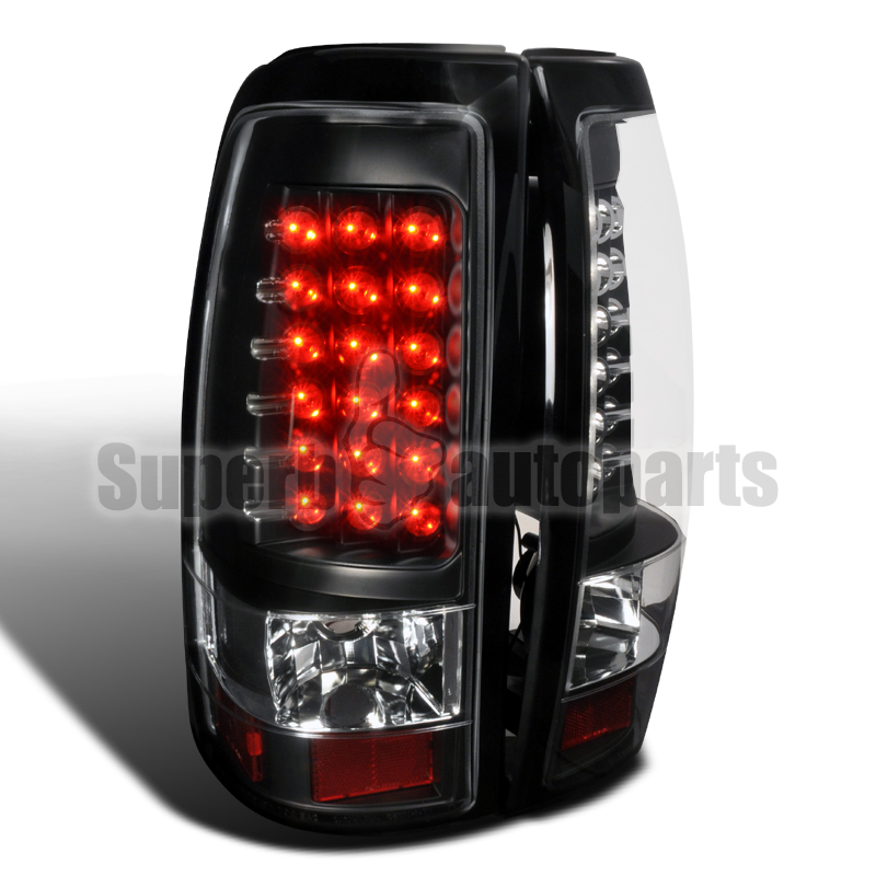 lights tail lights headlights 2003 2006 chevy silverado 1500 2500 led. Black Bedroom Furniture Sets. Home Design Ideas