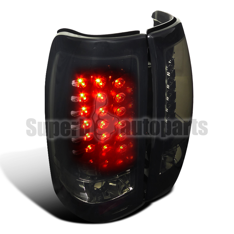 1999 2002 chevy silverado gmc sierra led tail brake lights. Black Bedroom Furniture Sets. Home Design Ideas