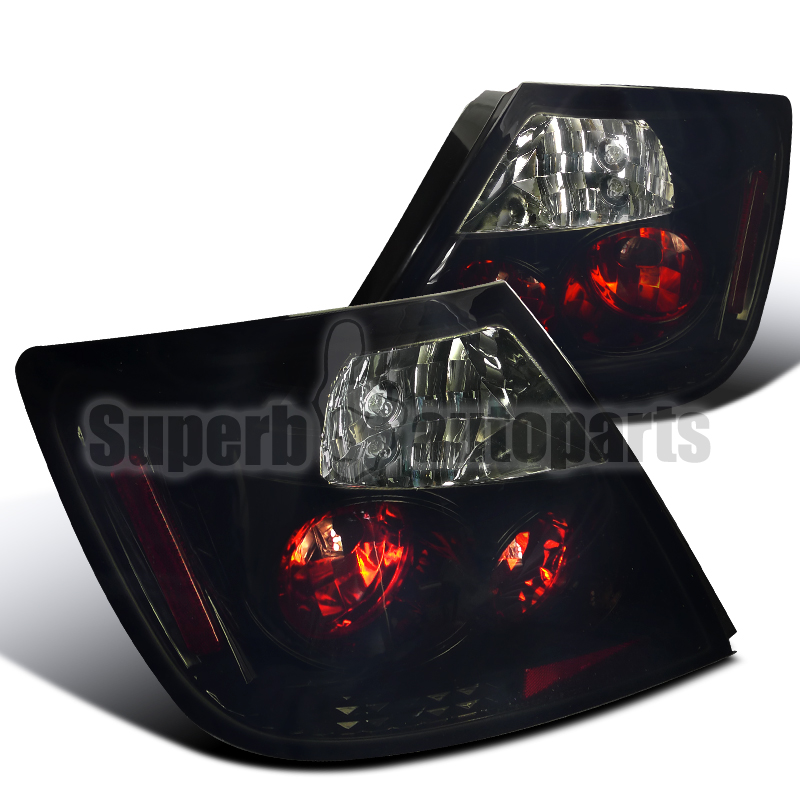 2004 2010 scion tc jdm altezza smoked tail lights brake lamps glossy. Black Bedroom Furniture Sets. Home Design Ideas