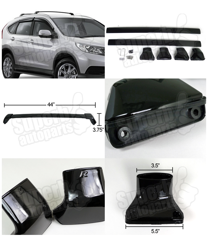 for 2012 2015 honda crv aluminum roof top cross bar roof. Black Bedroom Furniture Sets. Home Design Ideas