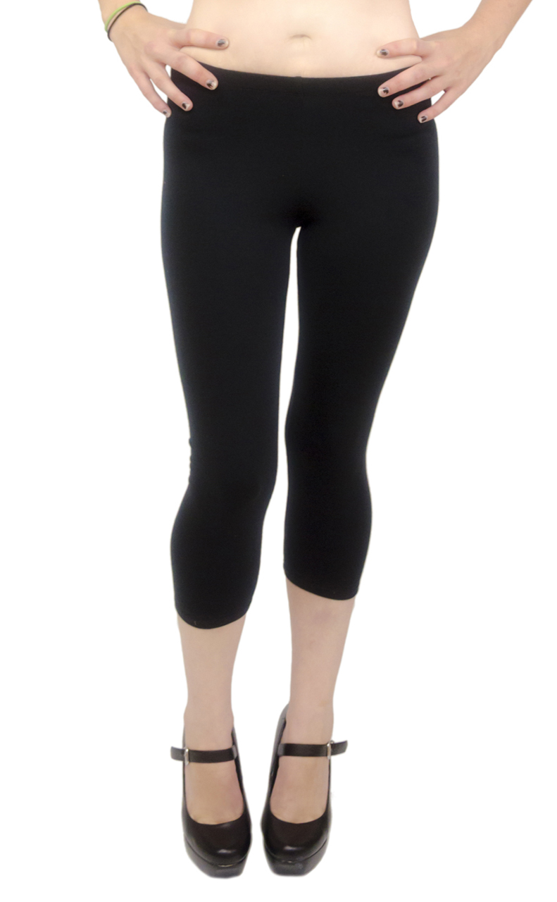 VF Manufacturing Capri Leggings - Cotton, Extra Plus Size at Sears.com