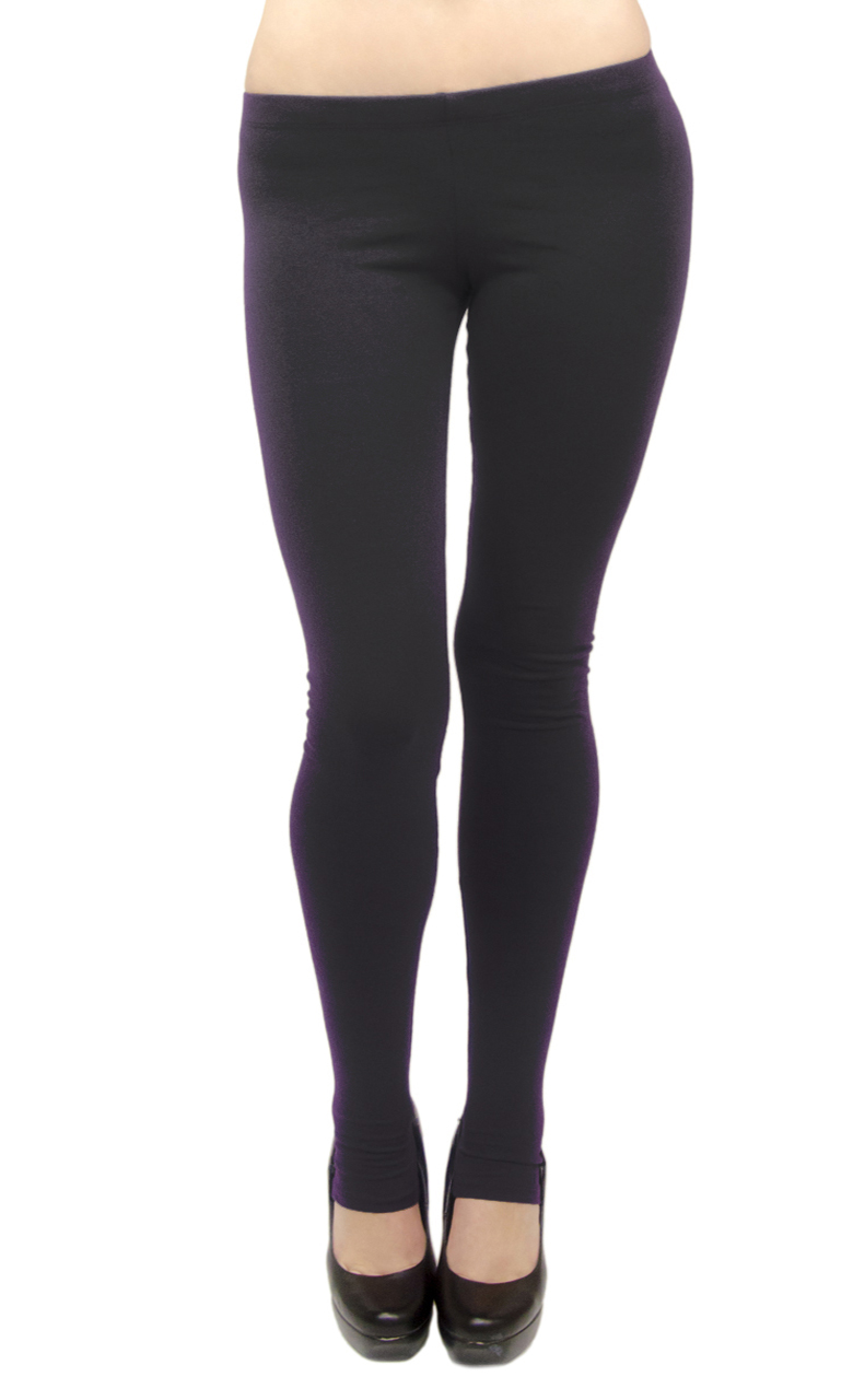 VF Manufacturing Long Leggings - Cotton/Stirrup, Extra Plus Size at Sears.com
