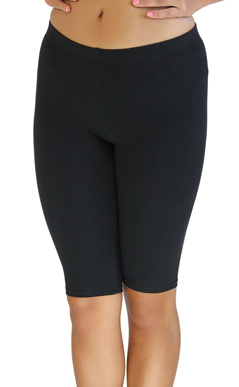 VF Manufacturing Legging Shorts - Biker Length, Extra Plus Size at Sears.com