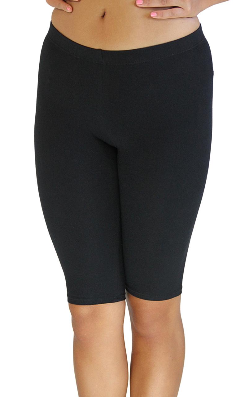 VF Manufacturing Legging Shorts - Biker Length, Extra Plus Size