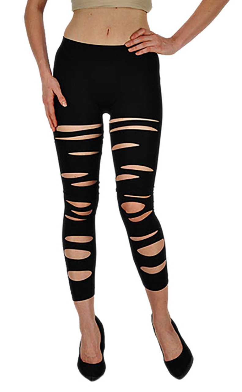 VF Manufacturing Capri Leggings - Front Slashed, Regular and Plus Size at Sears.com