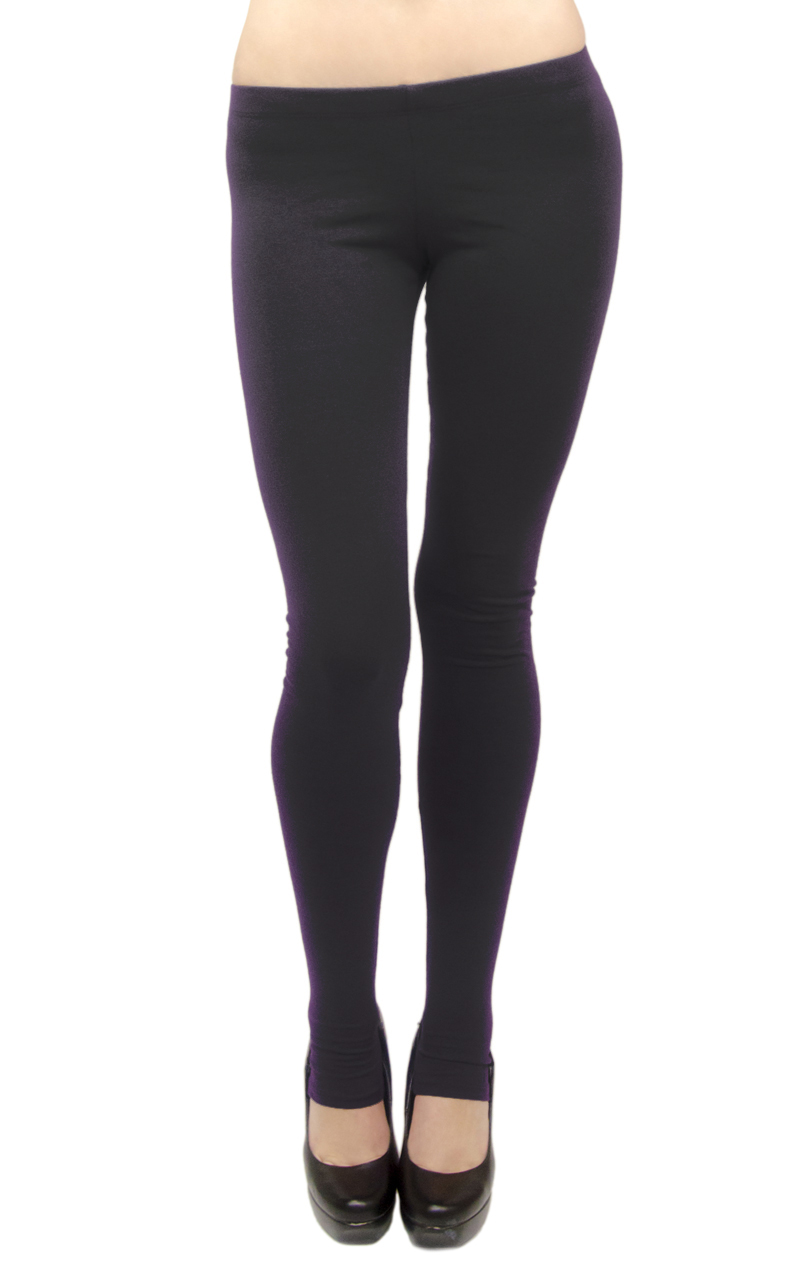 VF Manufacturing Long Leggings - Cotton/Stirrup, Regular and Plus Size at Sears.com