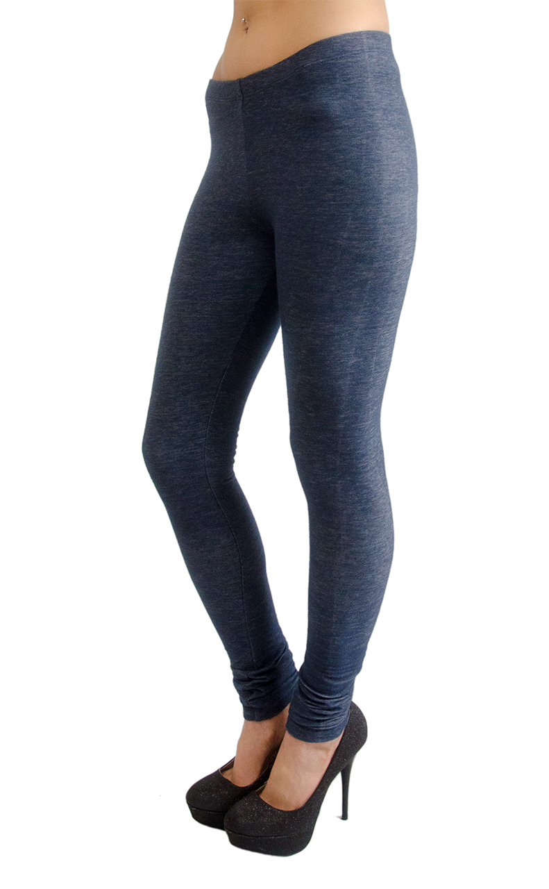 VF Manufacturing Long Leggings - Premium Knit Denim, Regular and Plus Size at Sears.com