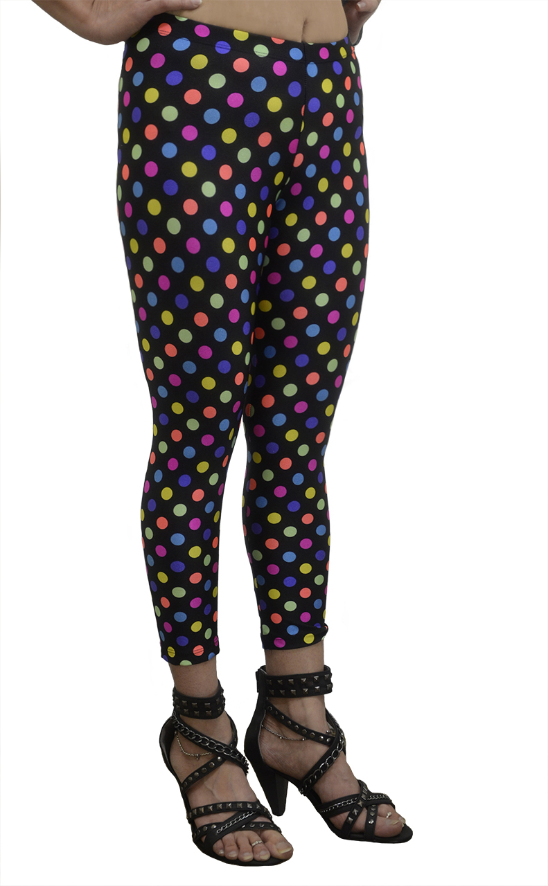 Vivian's Fashions Leggings - Long Polka Dots at Sears.com
