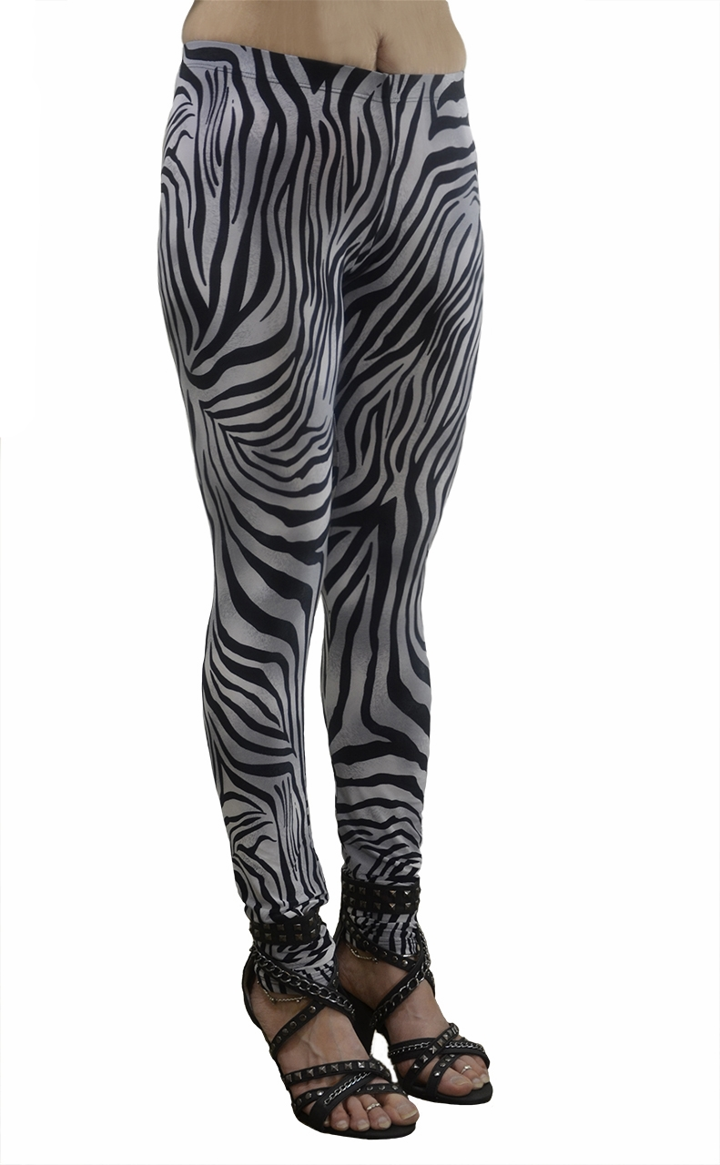 VF Manufacturing Long Leggings - Zebra Tight, Regular and Plus Size at Sears.com