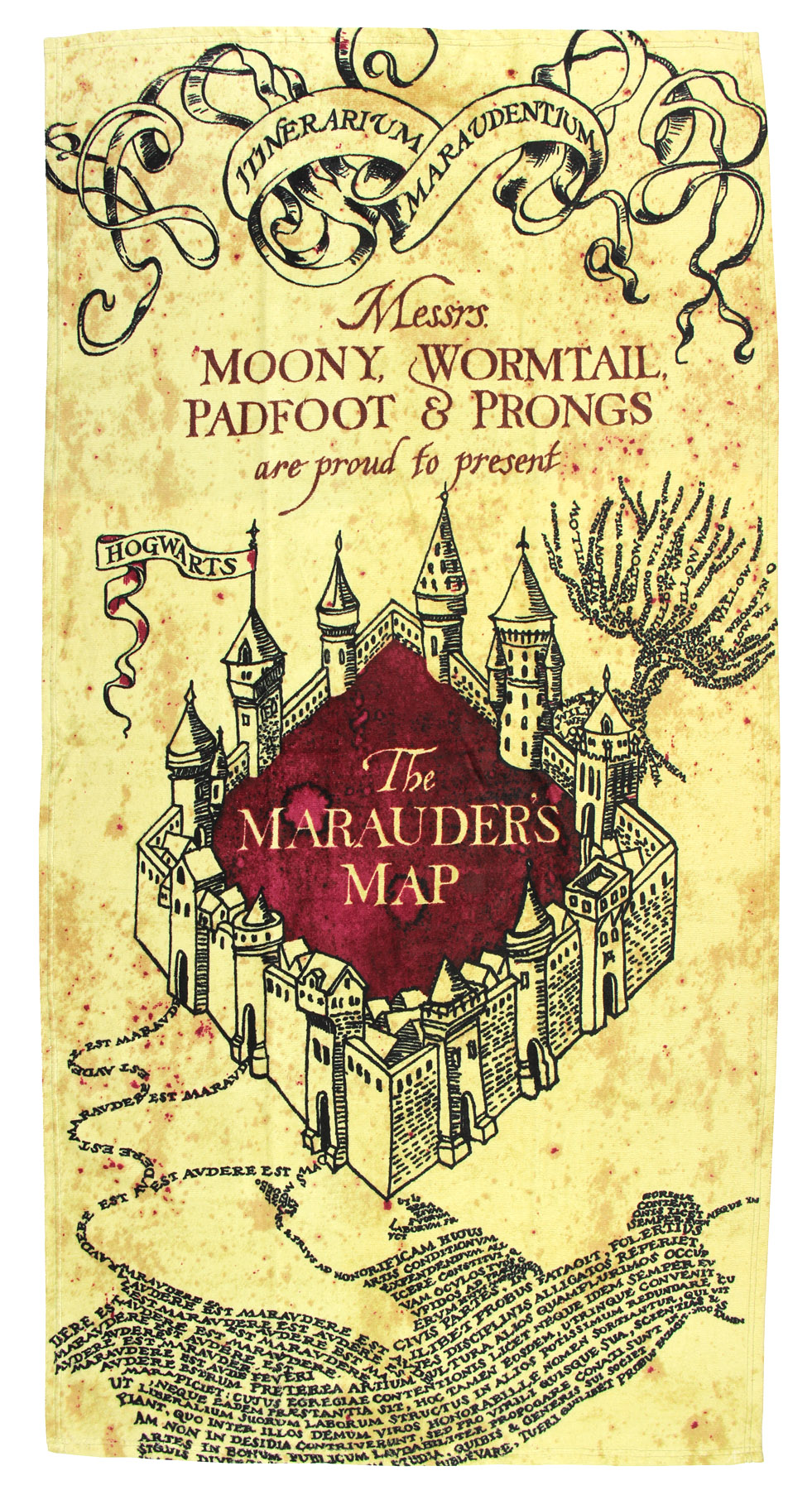 how to read the marauders map