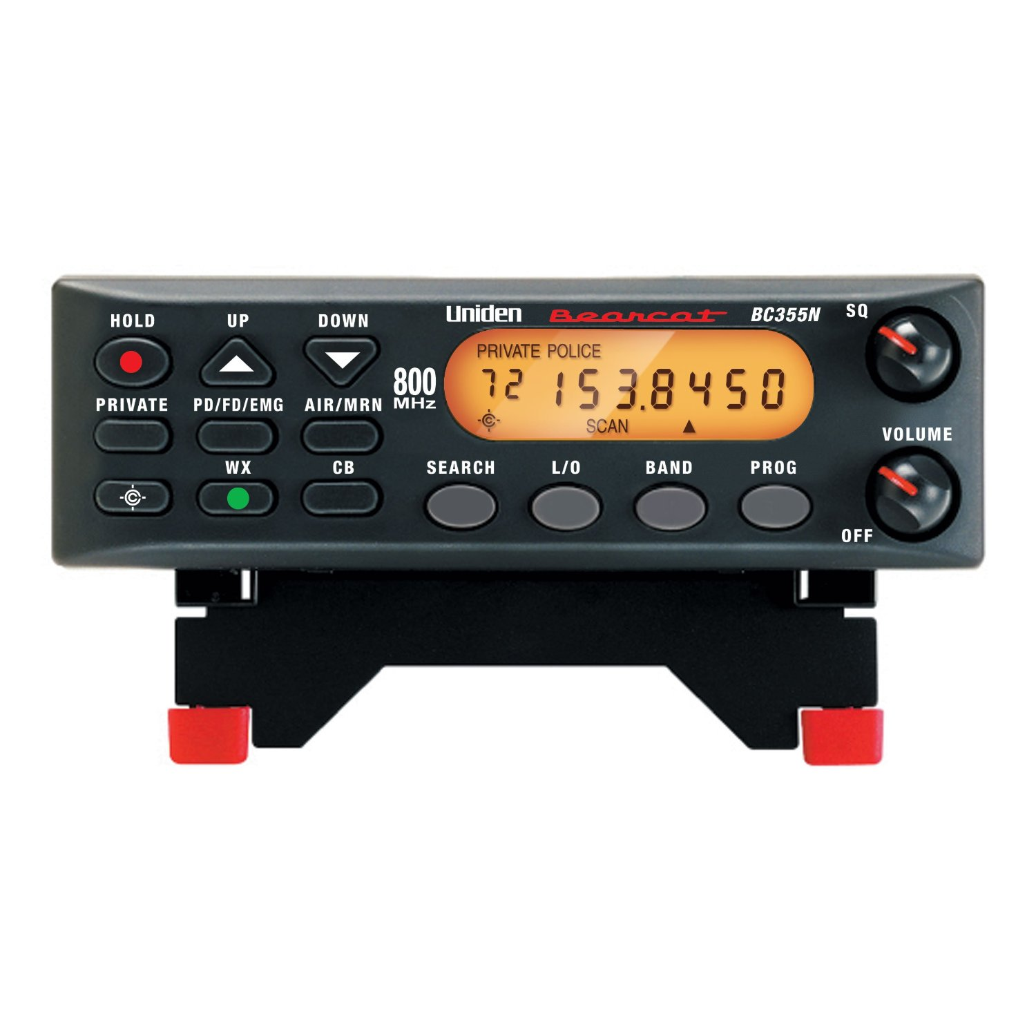 Uniden Bc355n 800 Mhz 300-channel, Analog Narrow Band, Ba...