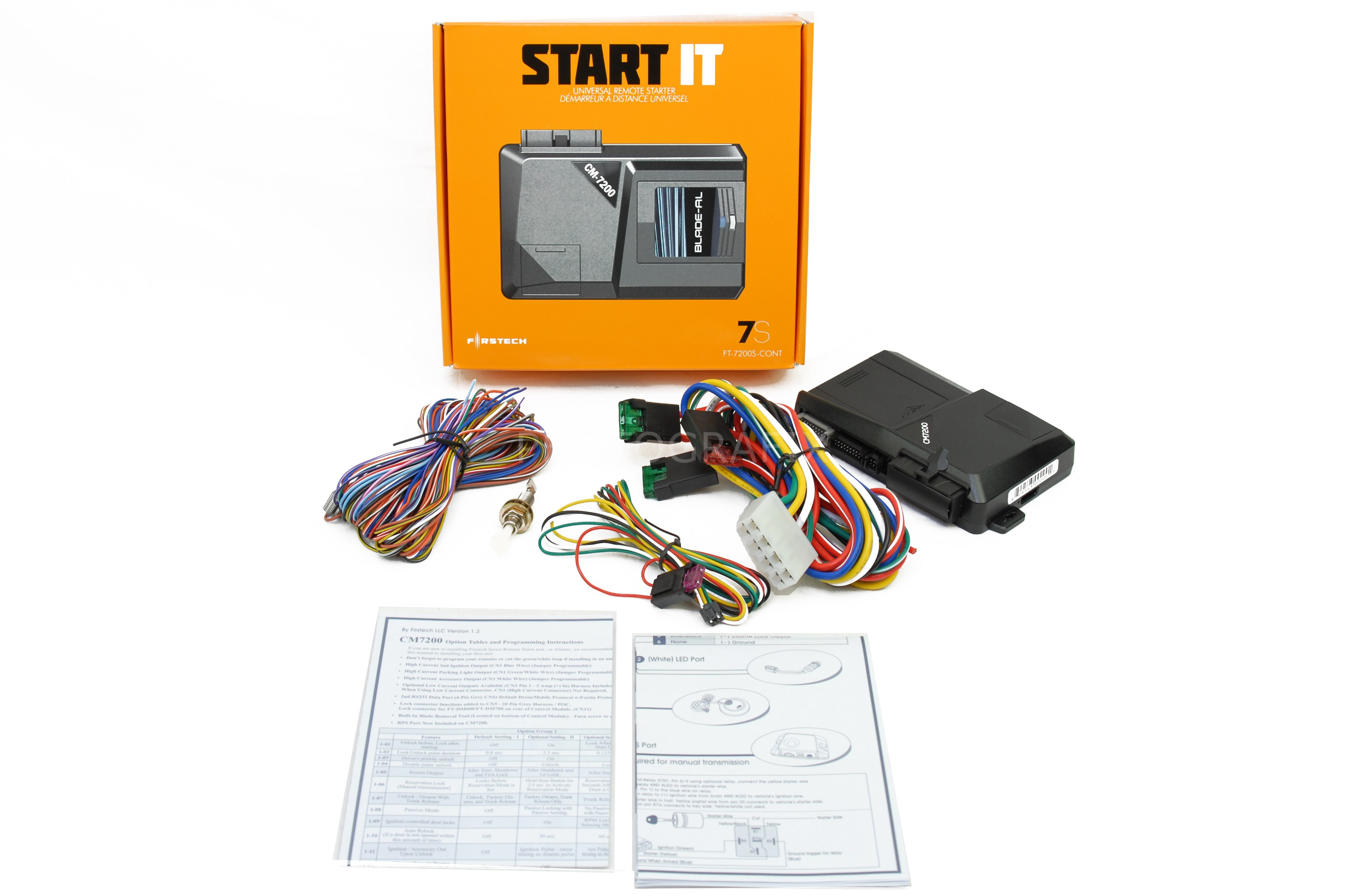 Compustar Remote Start Wiring Diagram 7200 Diagrams Bulldog Keyless Entry Ft7200s Control Ft 6900s