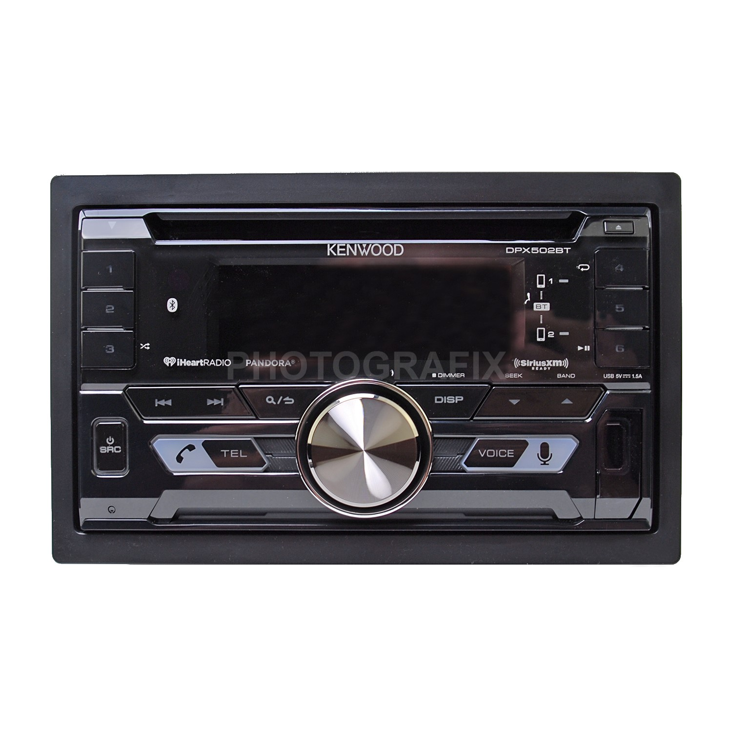 kenwood dpx502bt double din cd bluetooth car stereo. Black Bedroom Furniture Sets. Home Design Ideas