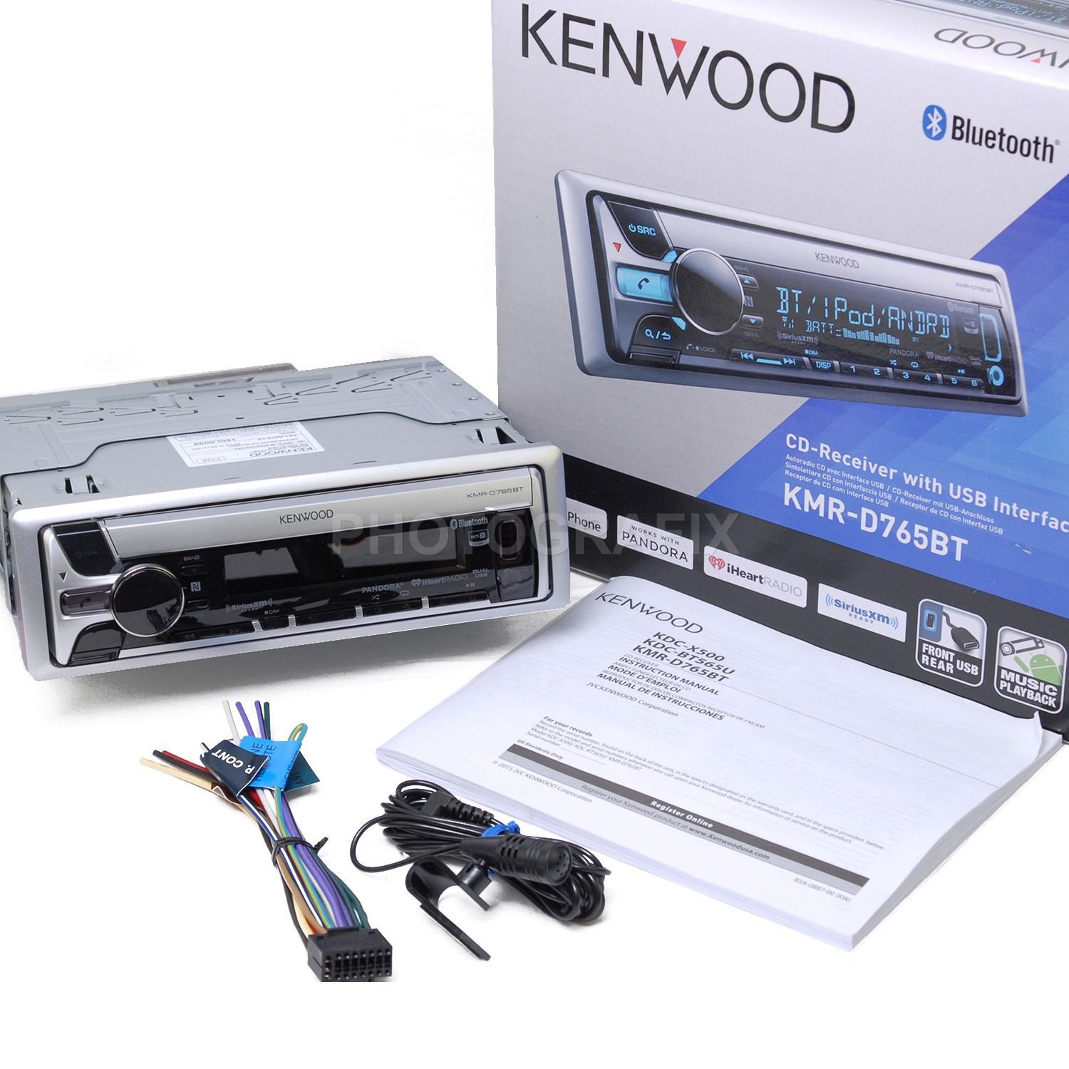 tips for installing a stereo system in your boat kenwood kmr d765bt marine boat stereo cd receiver bluetooth replaced kmr d562bt
