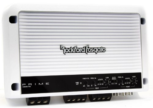 rockford fosgate m600 4d 4 channel class d marine boat amplifier 600w ebay
