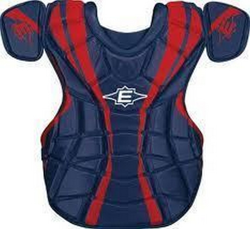 Easton Surge Custom Adult Navy Red Chest Protector Age 16 Up NIW
