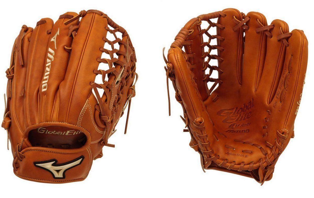 "Composite Bats Mizuno 12.75""  RHT Global Elite VOP Pro Outfield Baseball Glove"