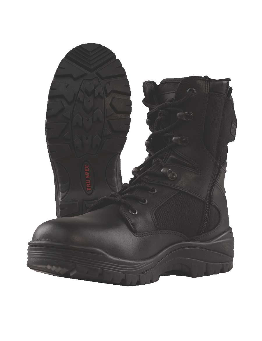 Tru-Spec Mens Tactical Assault Side Zipper Boots