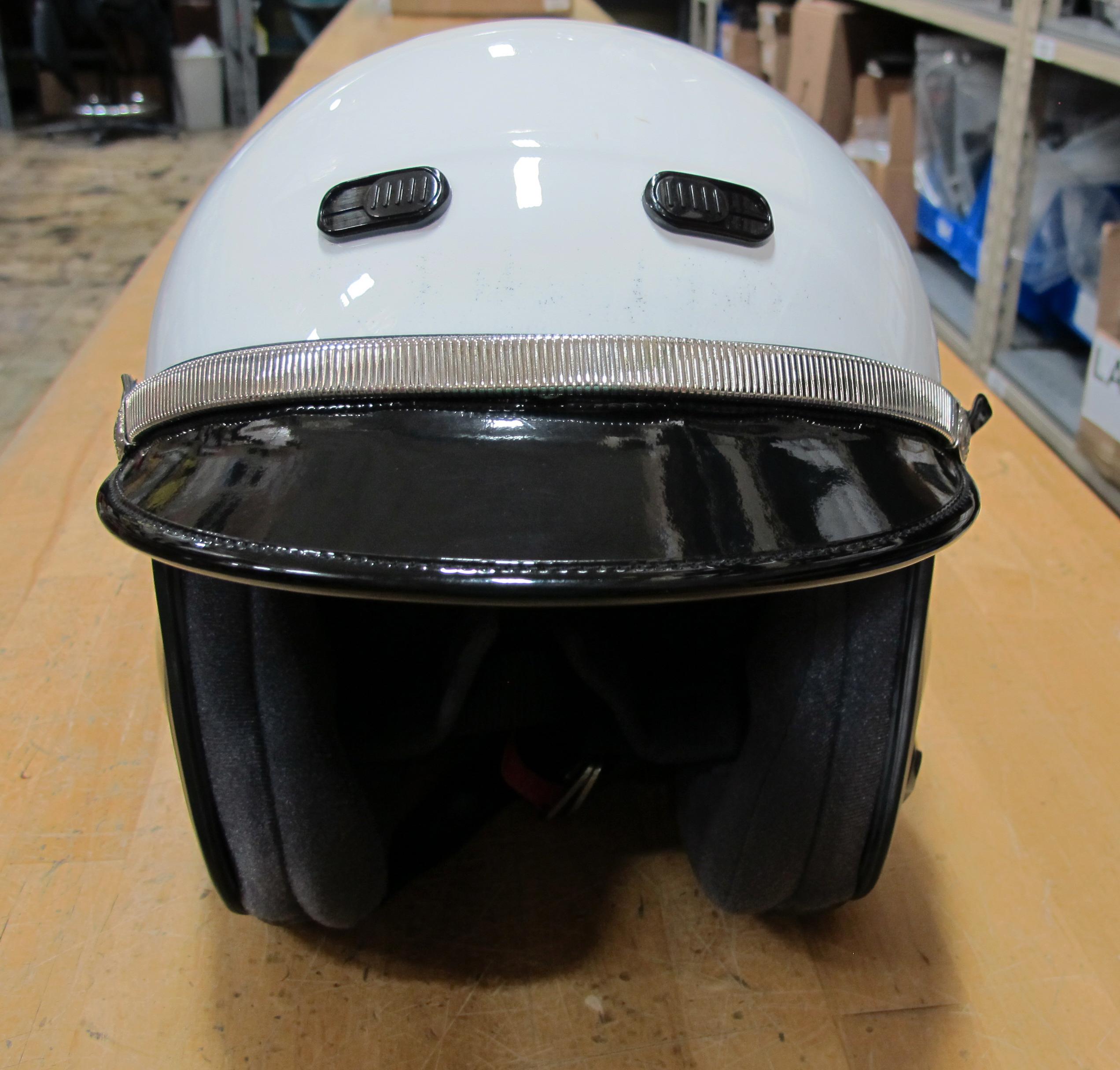 Shoei RJ Platinum LE Open Face Police Helmet BlackWhite  : img0861 <strong>Shark</strong> Police Helmet from www.ebay.com size 2544 x 2432 jpeg 2517kB