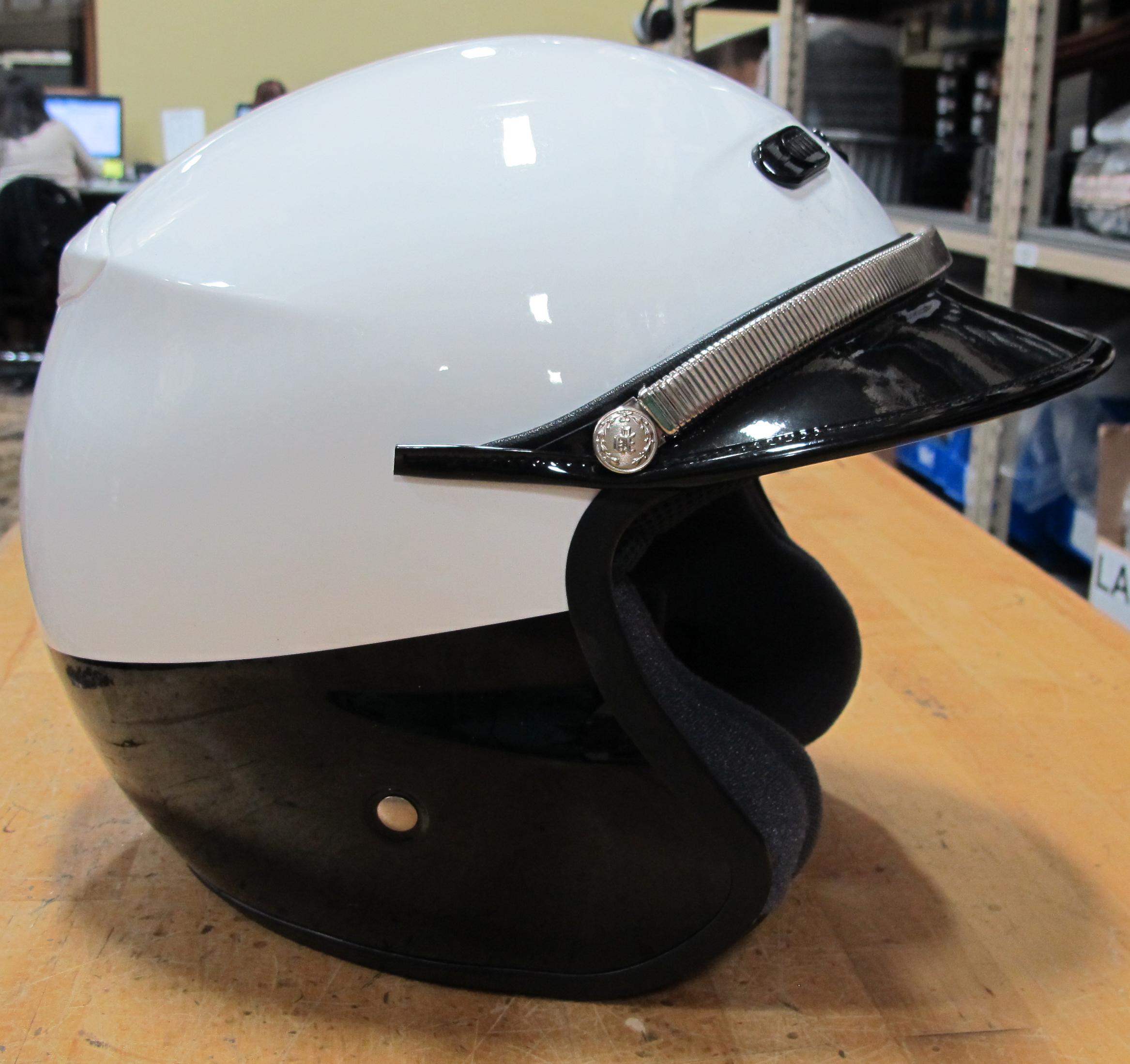 Shoei RJ Platinum LE Open Face Police Helmet BlackWhite  : img0866 <strong>Cop</strong> Helmet from www.ebay.com size 2334 x 2198 jpeg 2242kB