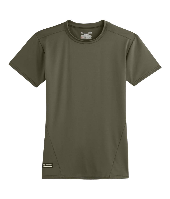Under armour men 39 s tactical heatgear compression short for Under armour half sleeve shirt